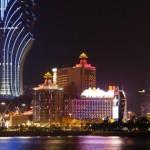 Macau Waterfront at Night