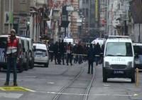 istiklal caddesinde canlı bombaa